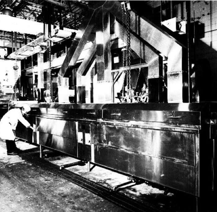 First processing factory in 1951
