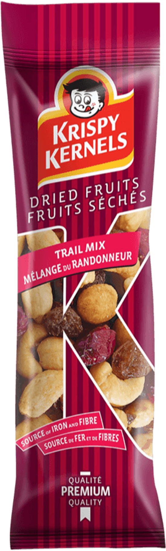 Dried fruits and nuts - Trail mix - 55g