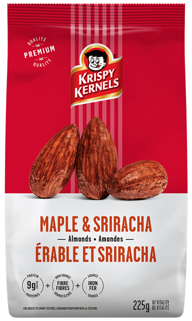 Almonds - Maple and Sriracha - 225 g
