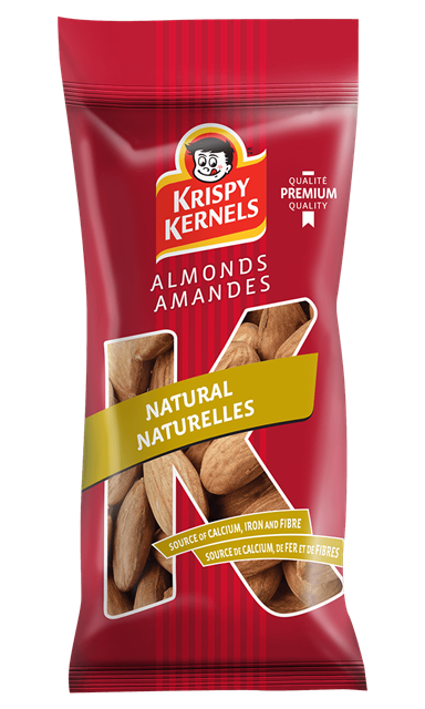 Almonds - Natural - 60 g