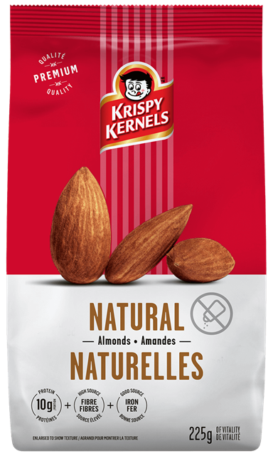 Almonds - Natural - 225 g