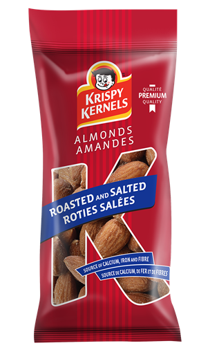 Almonds - roasted and salted - 60 g
