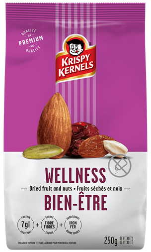 Dried fruits and nuts - Wellness - 250 g