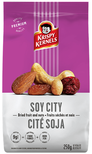 Dried fruits and nuts - Soy city mix - 250 g