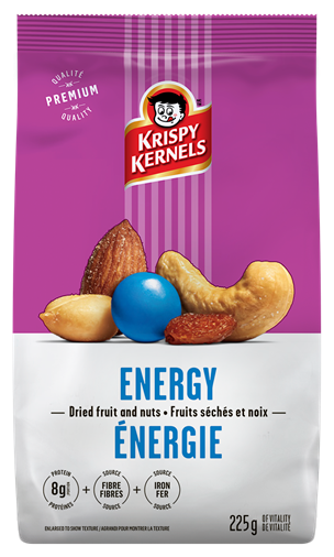 Dried fruits and nuts - Energy - 250 g