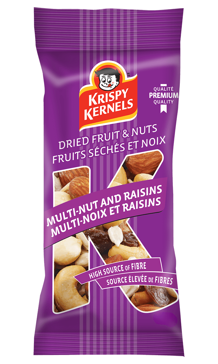 Dried fruits and nuts - Multi-nut and raisins - 75 g