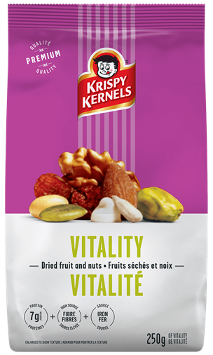Dried fruits and nuts - Vitality - 250 g