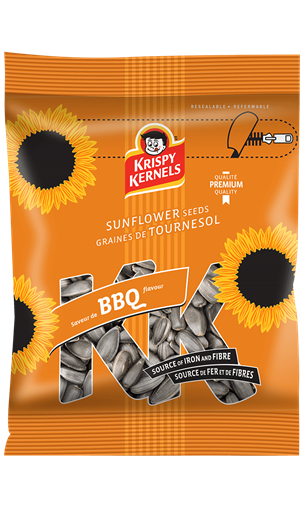Sunflower seeds inshell - BBQ - 227 g