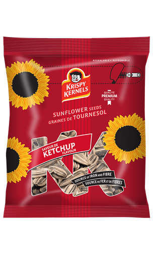 Sunflower seeds inshell - Ketchup - 227 g
