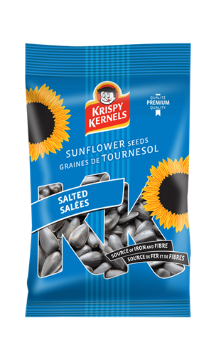 Sunflower seeds inshell - Salées - 100 g