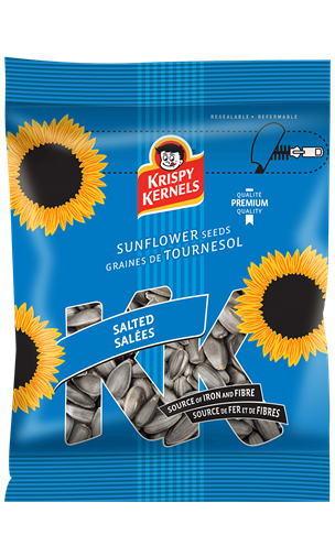 Sunflower seeds inshell - Salted - 227 g