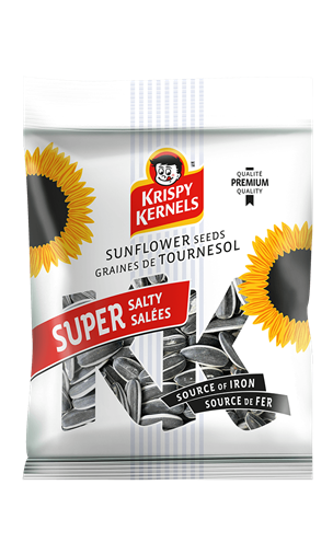 Sunflower seeds inshell - Super Salted - 100 g