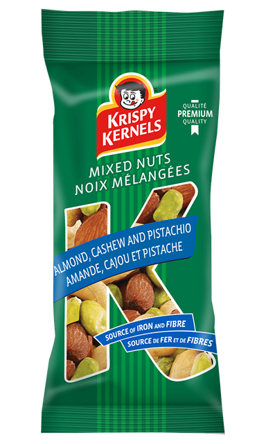Mixed nuts - Almond, cashew & pistachio - 65 g