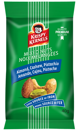 Mixed nuts - Almond, cashew & pistachio - 40 g
