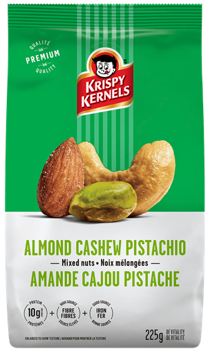 Mixed nuts - Almond, cashew & pistachio - 225 g