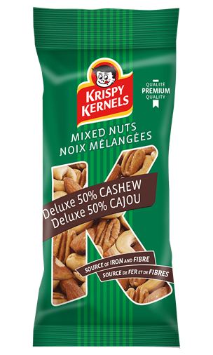 Mixed nuts - Deluxe 50% cashews - 65 g
