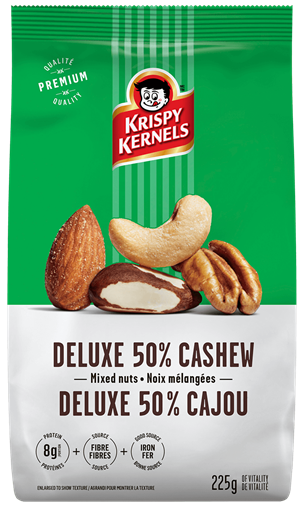 Mixed nuts - Deluxe 50% cashews - 225 g