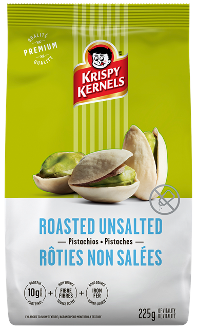 Pistachios - Rosted unsalted - 225 g