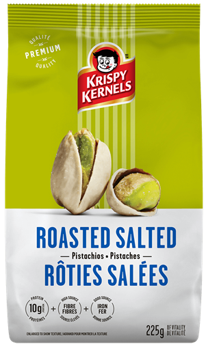 Pistachios - Rosted salted - 225 g